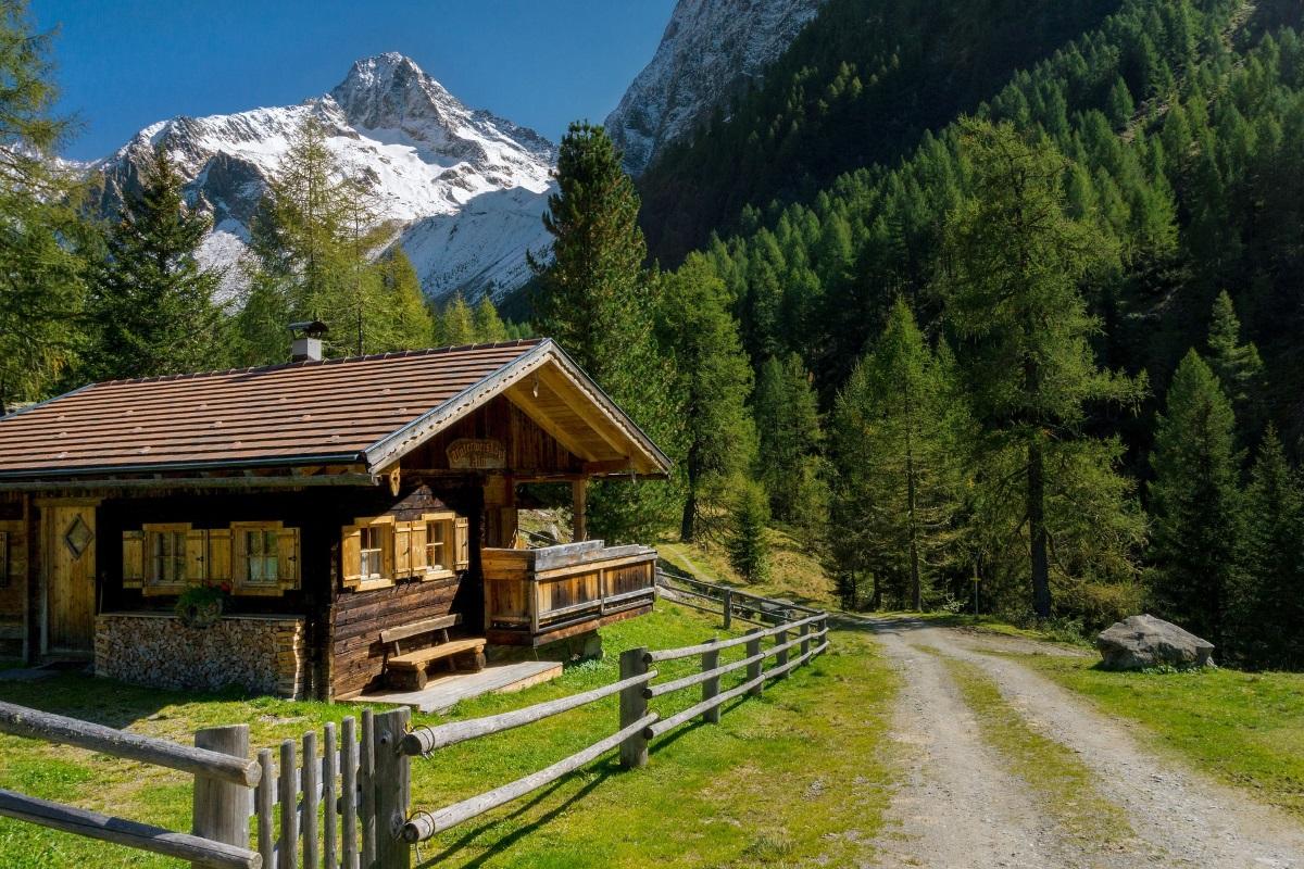 österreich almhütte berge urlaub in österreich