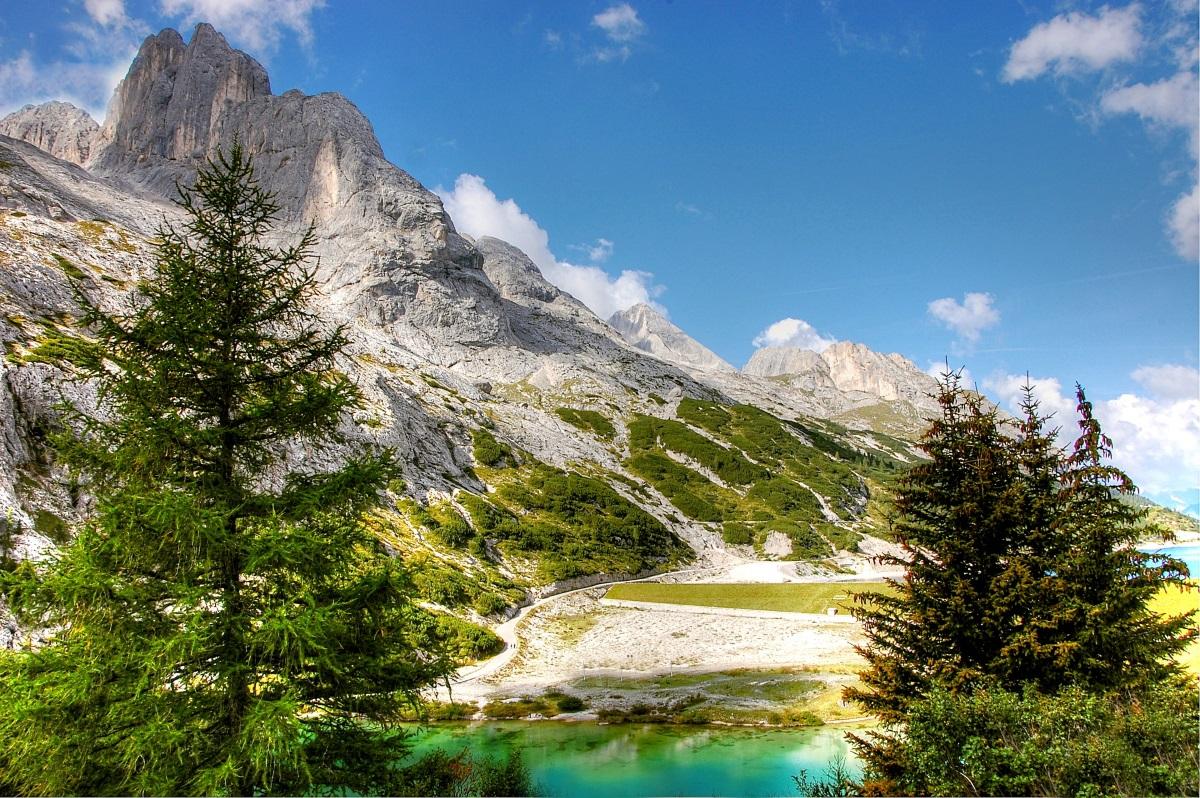 Dolomiten Trentino Berge – Ansicht Brenta Gruppe, Urlaub Dolomiten Italien