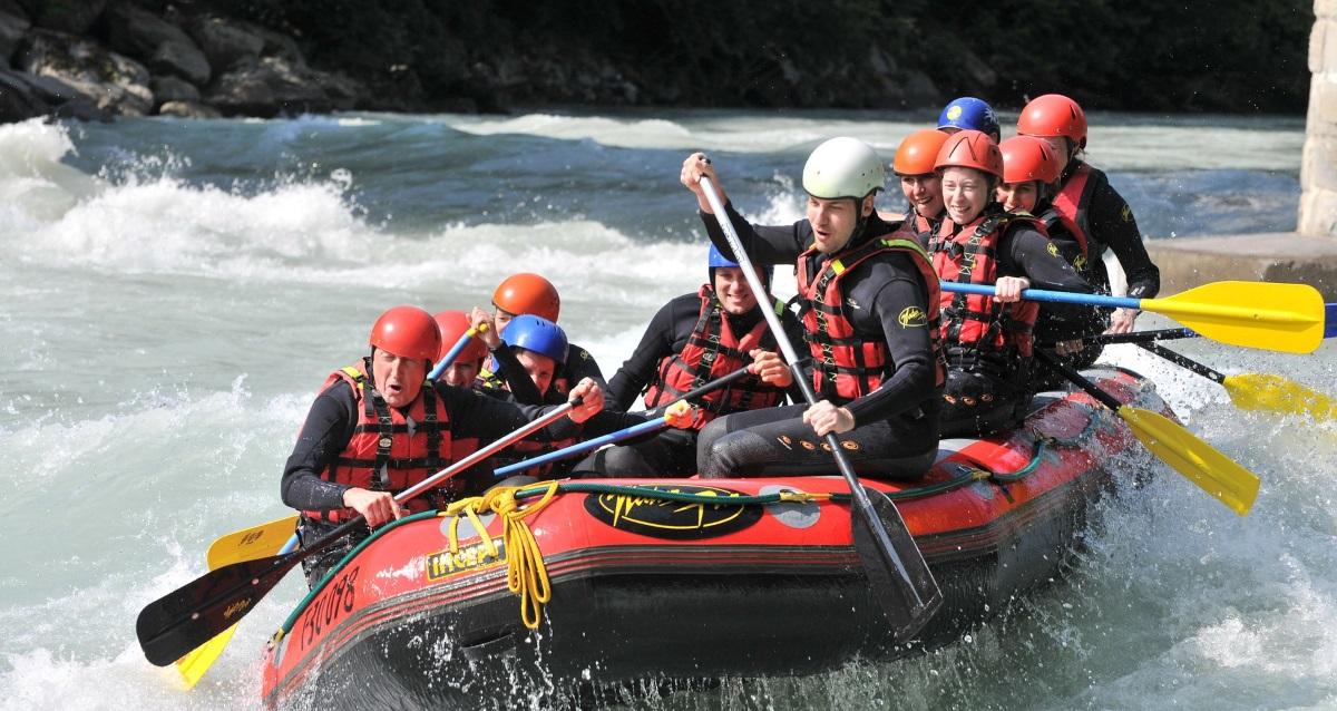 Trentino Rafting Urlaubs Angebot